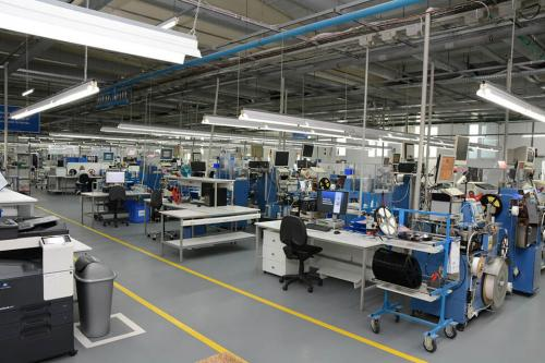 Control and automatic packaging of SMD components