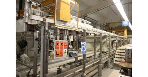 Linija za galvanizaciju keramičkih komponenata
